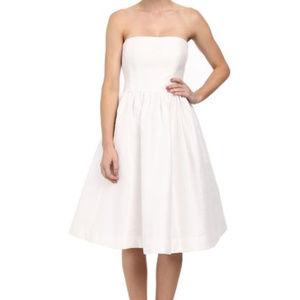WHITE Georgina Strapless Dior